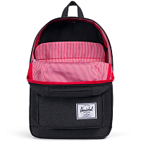 Herschel Pop Quiz Black Crosshatch/Black