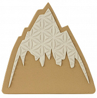 Burton FOAM MATS MOUNTAIN LOGO
