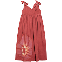 STORY mfg Daisy Dress PINK RED BLOOM