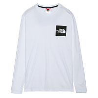 The North Face M L/S FINE TEE TNF WHITE (FN4)
