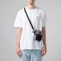 Vans BAIL SHOULDER BAG BLACK-WHITE CHECK