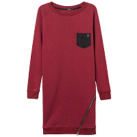 Emblem SWEATSHOT ZIP bordo