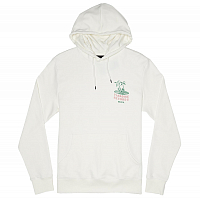 RVCA PARADISE RECORDS HOO ANTIQUE WHITE