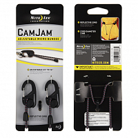 Nite Ize CAMJAM ADJUSTABLE MICRO BUNGEE BLACK