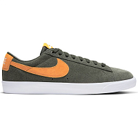 Nike SB ZOOM BLAZER LOW GT SEQUOIA/KUMQUAT-WHITE-GUM LIGHT BROWN