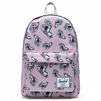 Herschel CLASSIC X-LARGE PALE MAUVE SCREAMING HAND