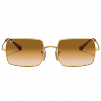 Ray Ban Rectangle GOLD/CLEAR GRADIENT BROWN