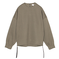 HYKE Crew Neck TOP GRAY