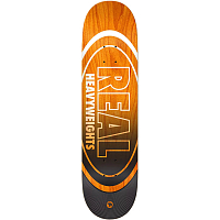 Real Skateboards BRD HEAVYWEIGHT ORG