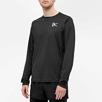 District Vision AIR Wear Long-sleeve T-shirt BLACK