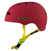 Smith Scabs ELITE HELMET CERTIFIED EPS RED