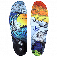 REMIND INSOLE CUSH DCP WAVES ASSORTED