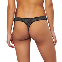 Stance Wide Side Thong Cotton ARTEMISBLACK