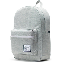 Herschel Pop Quiz Light Grey Crosshatch