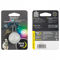 Nite Ize SPOTLIT LED CARABINER LIGHT DISCO