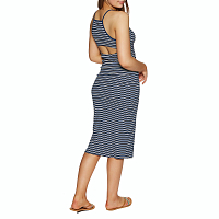 RVCA BIANCA DRESS FEDERAL BLUE