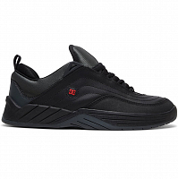 DC WILLIAMS SLIM M SHOE BLACK/DK GREY/ATHLETIC RED