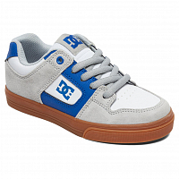 DC PURE B SHOE GREY/BLUE/WHITE