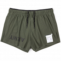 SATISFY SHORT DISTANCE 2.5 SHORTS ARMY