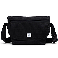 Herschel GRADE MID-VOLUME DARK GRID/BLACK