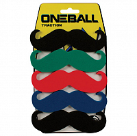 Oneball TRACTION - 5 PK MUSTACHE ASSORTED