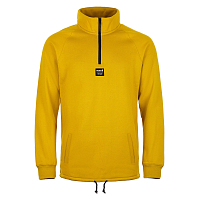 Planks Down DAY 1/4 ZIP Pullover MELLOW YELLOW