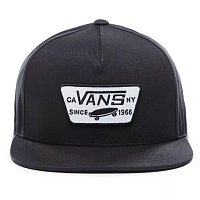 Vans FULL PATCH SNAPBACK TRUE BLACK