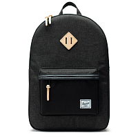 Herschel Heritage Black Crosshatch/Black