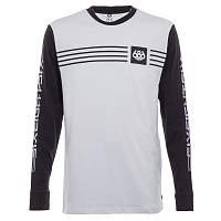 686 MNS BMX STRIPE L/S T-SHIRT White