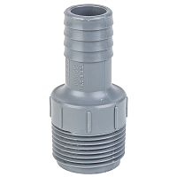 Eight.3 NPT PORT THREAD TO 3/4 BARB FITTING ASSORTED