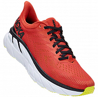 Hoka M CLIFTON 7 CHILI / BLACK