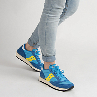 Saucony JAZZ VINTAGE OX Blue/Yellow