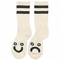 Polar HAPPY SAD SOCKS IVORY