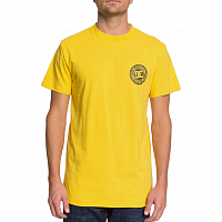 DC CIRCLE STAR FB M TEES DANDELION/BLACK