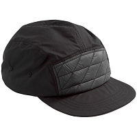 Holden 5 PANEL HAT BLACK