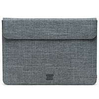 Herschel SPOKANE SLEEVE FOR MACBOOK Raven Crosshatch