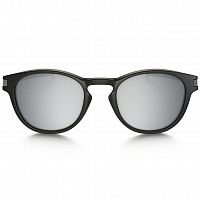 Oakley LATCH MATTE BLACK/CHROME IRIDIUM
