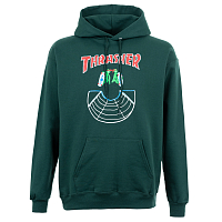 Thrasher DOUBLES HOOD Forest Green