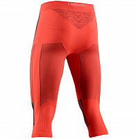 X-Bionic ENERGY ACCUMULATOR 4.0 PANTS 3/4 MEN SUNSET ORANGE/ANTHRACITE