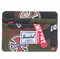 Herschel INDEPENDENT CHARLIE WOODLAND CAMO MULTI INDEPENDENT LOGO