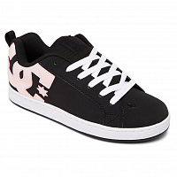 DC COURT GRAFFIK J SHOE BLACK/SUPERPINK