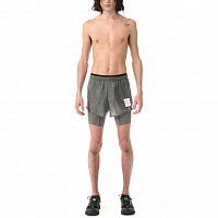 Satisfy Coffee Thermal Short Distance 8 Shorts STEEL