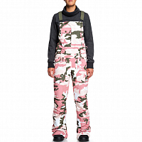 DC Collective BIB J Snpt DUSTY ROSE WMN VINTAGE CAMO