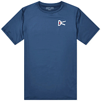 District Vision AIR Wear TEE BLUE