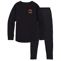 Burton KIDS 1ST LAYER SET TRUE BLACK