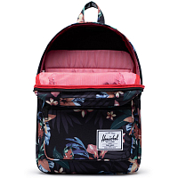 Herschel Pop Quiz SUMMER FLORAL BLACK