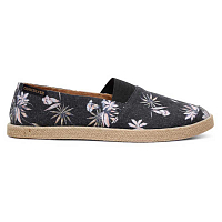 Quiksilver ESPADRILLED M SHOE BLACK/WHITE/BLACK