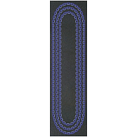 Grizzly CHAIN GRIPTAPE BLACK