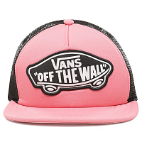 Vans BEACH GIRL TRUCKER HAT STRAWBERRY PINK