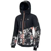 Picture organic SEEN JKT PEONIES BLACK